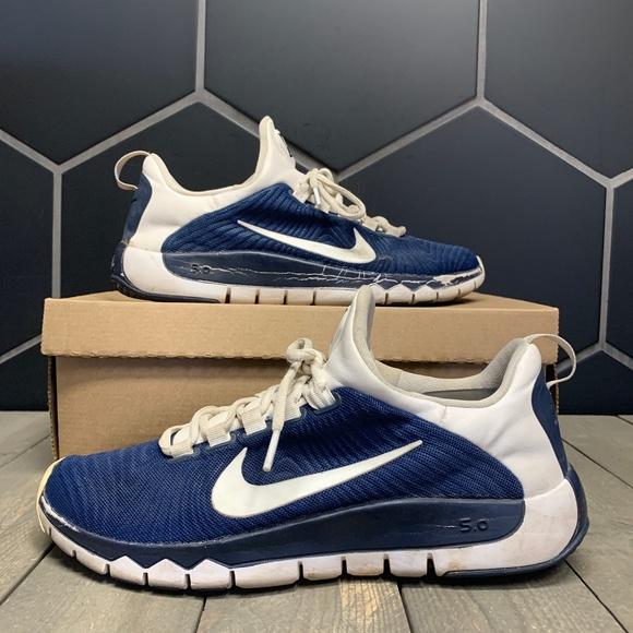 Nike Shoes | Used Nike Free 5 Tr Blue
